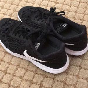 Black and White Nikes